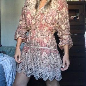 Mini dress perfect for the fall